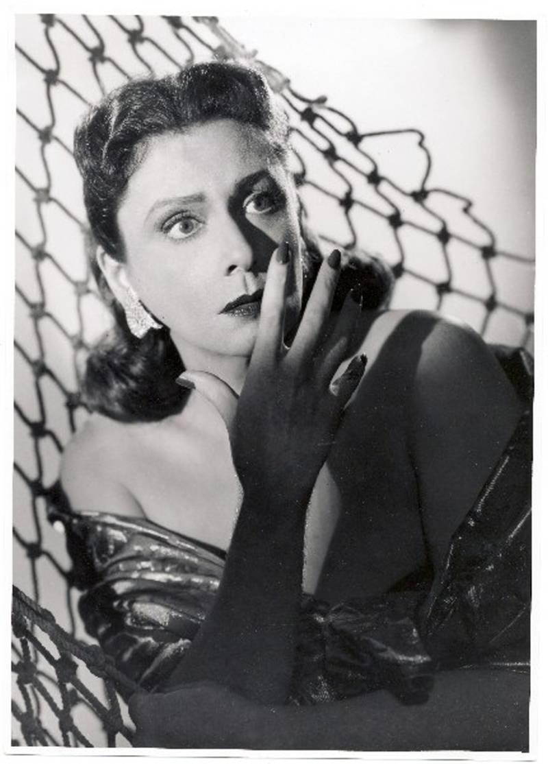 """46b387a Zarah Leander-Porträt zu dem Film """"Cuba Cabana""""  1938"""