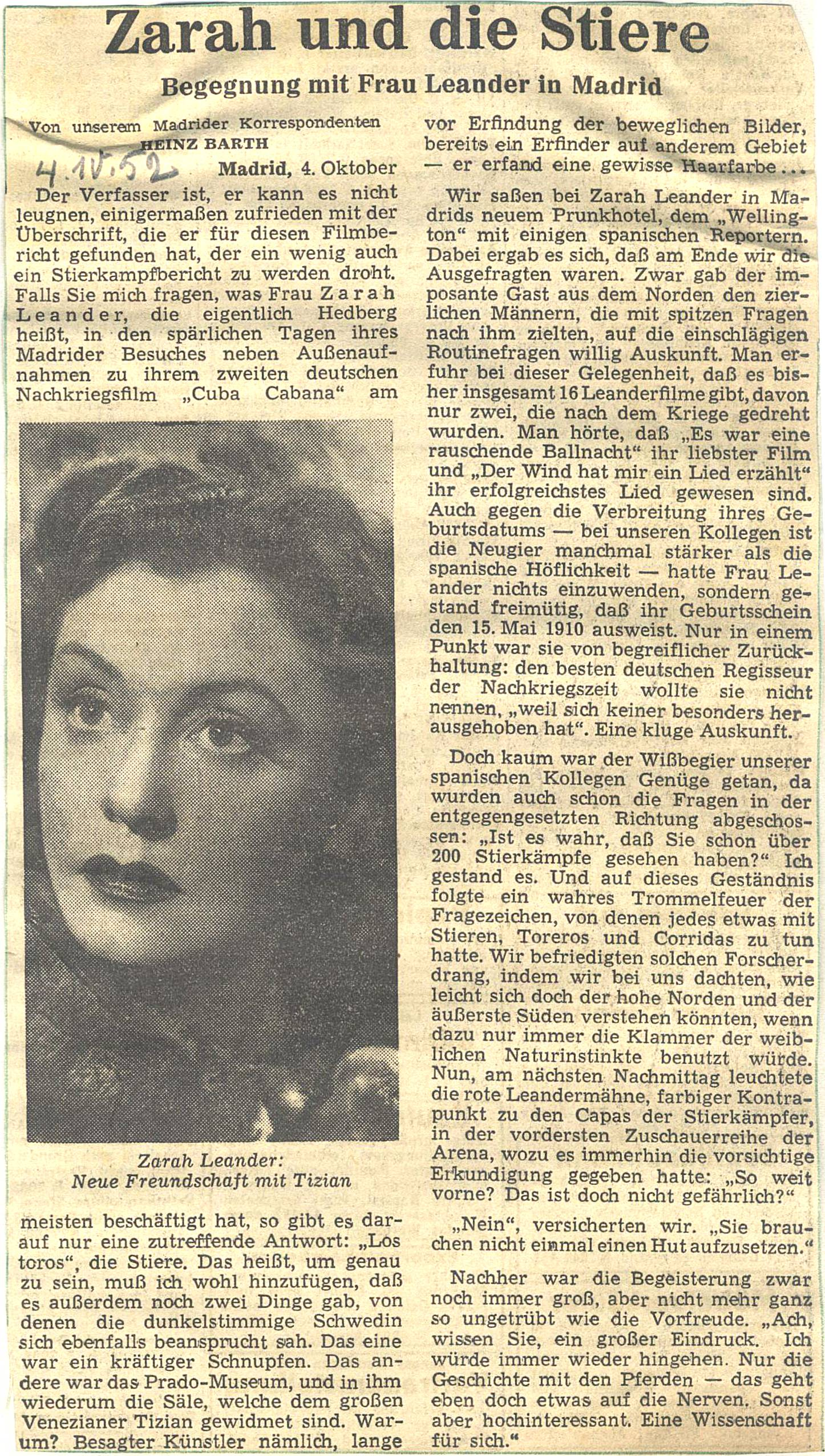 17 Oktober 1952  Bb